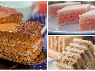 Вафельний торт — 8 рецептів найсмачніших начинок
