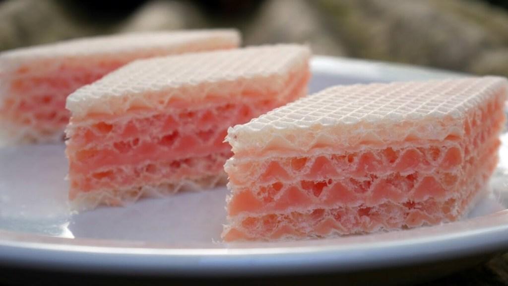 Вафельный торт с желе