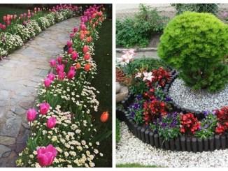 Квітники в саду та навколо дому: 40 ідей, що милують око