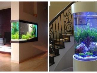 Акваріум в інтер'єрі: 25 цікавих ідей для облаштування акваріума (ФОТО)