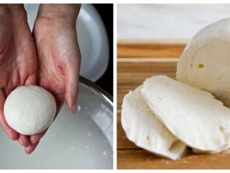 Домашня моцарелла з 2-х інгредієнтів за 30 хвилин