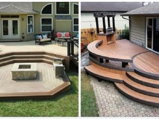 Тераса-палуба: робимо двір красивим та практичним (40 фото-ідей)