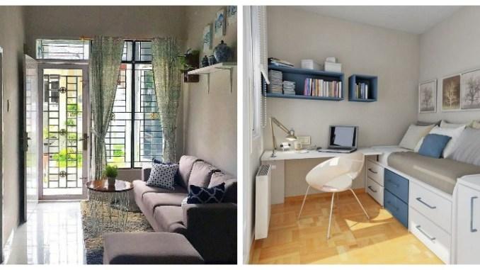 Маленькі кімнати — великі ідеї. Дизайн маленької кімнати (30 фото)