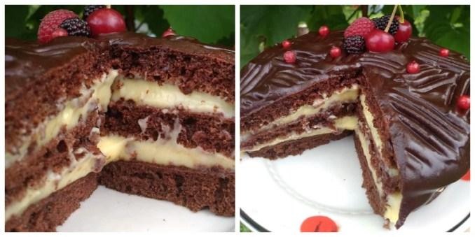 Супер-легкий, без міксера та духовки — торт на сковороді. РЕЦЕПТ