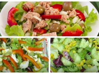 Салати з листям салату — кращі рецепти з міксу салатів. Швидко, смачно і корисно!