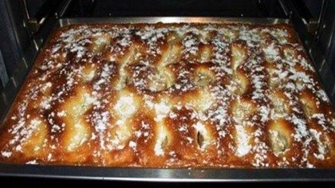 Пиріг з яблуками, як тістечко. Ніжний, ароматний і дуже смачний!
