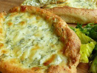 Неймовірна смакота за 30 хвилин! Хачапурі з сирного тіста — покроковий рецепт з фото