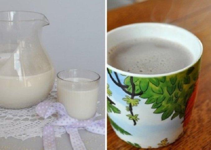 Це молоко містить в 9 разів більше кальцію, ніж коров'яче! 1 стакан вранці натщесерце щодня, і жирові складки ...