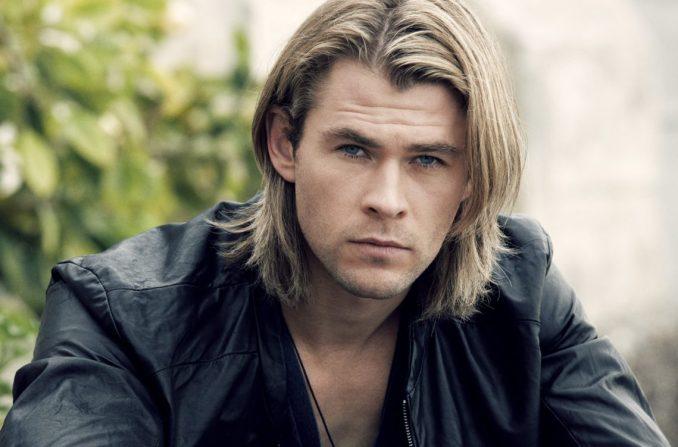 Мужская прическа на длинные волосы в стиле гранж