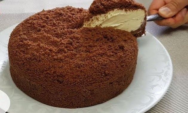 БЕЗ ДУХОВКИ: райський торт зі сметанним кремом. Він просто тане в роті!