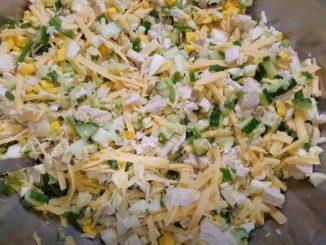 """Салат """"Ідеал"""" — вишуканий рецепт на будь-яке свято. Дуже смачно і просто!"""