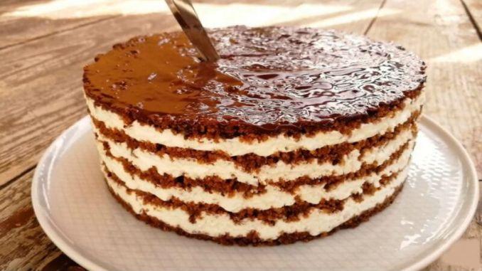 Торт із загадкою: смачний десерт без випічки, що тане в роті