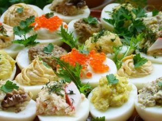 Начинки для фаршированих яєць - детальний рецепт приготування