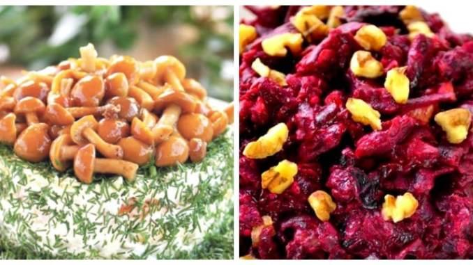 Оригінальні та недорогі зимові салати — прості, швидкі та смачні рецепти з фото