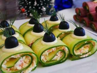 З крабовими паличками, сиром, яйцями і часником — швидкі закуски на новорічний стіл