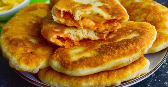 Смажені пиріжки на кефірі без дріжджів — виходять м'якими, ніжними і дуже смачними!