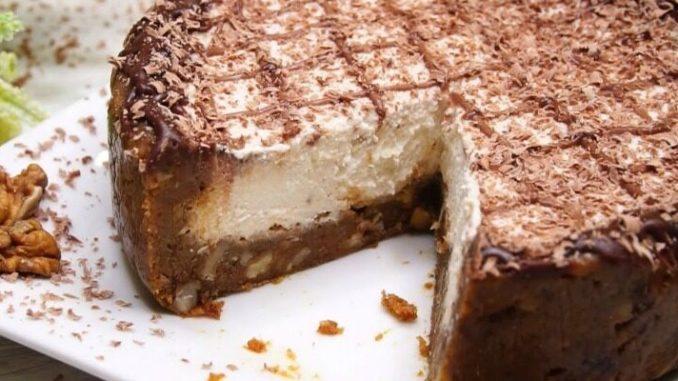 Фірмовий торт від сестри! Без духовки, масла, желатину, і борошна
