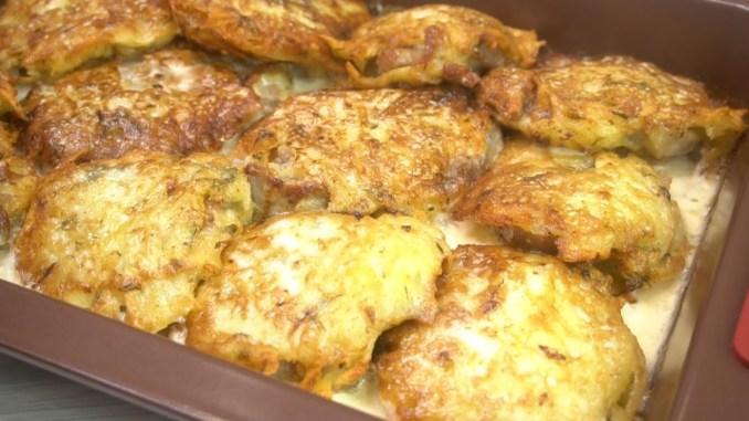 Смачна гаряча страва з картоплі. На обід, або на святковий стіл. Швидко і легко готується!