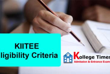 KIITEE 2018 Eligibility criteria Check Here