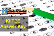 KIITEE Answer Key 2018 Download Here