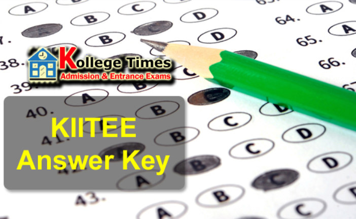 KIITEE Answer Key 2017 :- Check Here