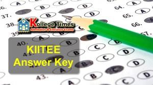 KIITEE Answer Key 2018 Download Here - Admission