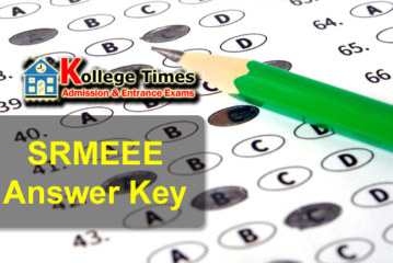 SRMJEEE 2017 Answer key | SRMEEE Paper Solutuion