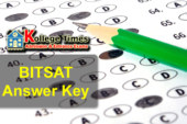 BITSAT Answer keys 2017 :- Download here