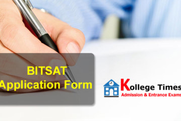 BITSAT Application form 2017 – Online Registration