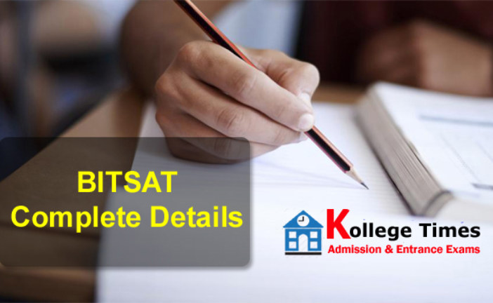 BITSAT 2017 Application Form, Admit card, Result Details
