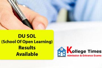 DU SOL Result 2016 | School of Open Learning