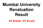 Mumbai University Revaluation Results 2017