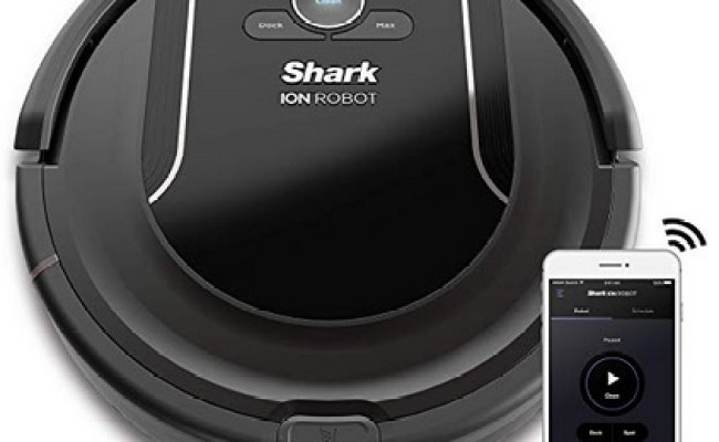 Amazon Shark Ion Robot Vacuum R85 Wifi Connected With