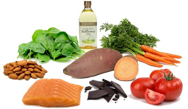 مأكولات تحتوي على فيتامين A