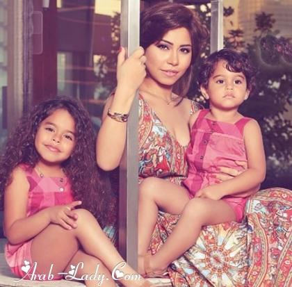 شيرين عبدالوهاب وابنتيها
