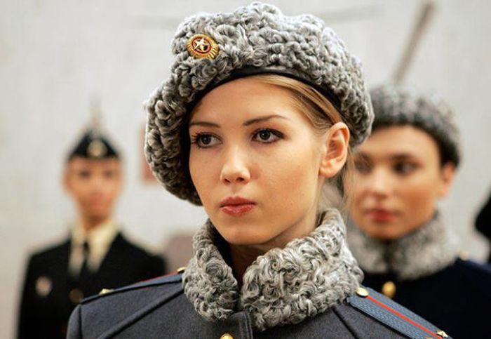 مجندات الجيش الروسي
