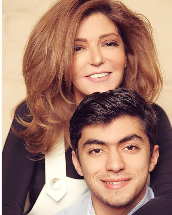 سميرة سعيد وابنها