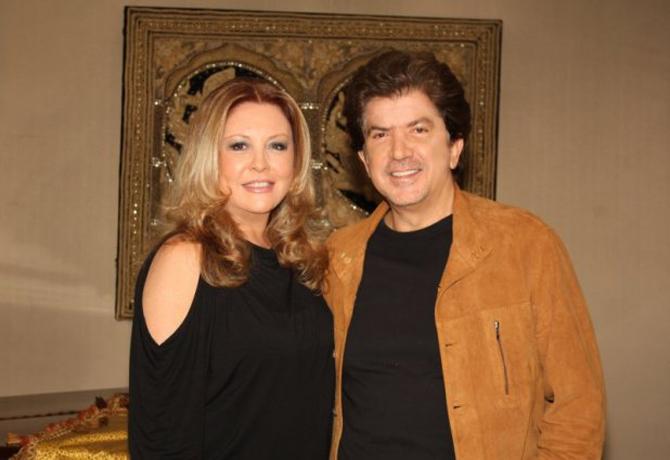 وليد توفيق وزوجته جورجينا رزق