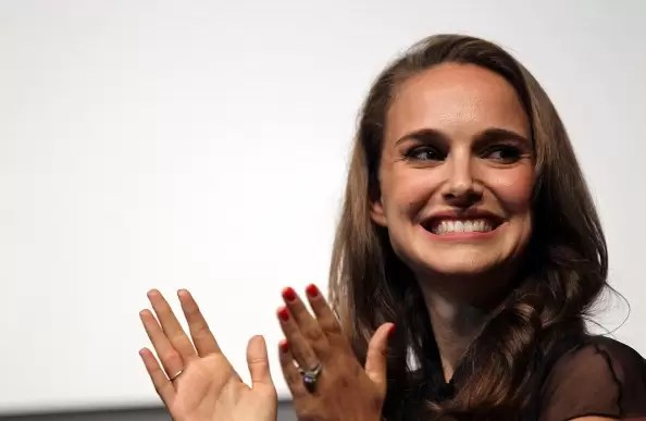 LAS VEGAS, NV - AUGUST 25: Actress Natalie Portman attends the Nevada Women Vote 2012 Summit on August 25, 2012 in Las Vegas, Nevada. The event focused on rallying support for President Obama's re-election. (Photo by Isaac Brekken/Getty Images)