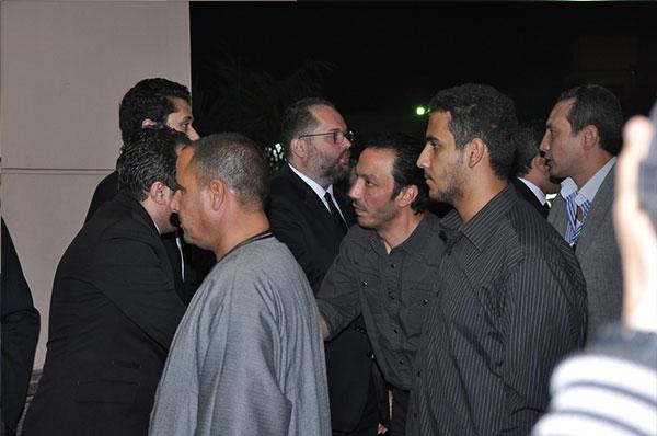 عزاء جدة كريم محمود عبدالعزيز