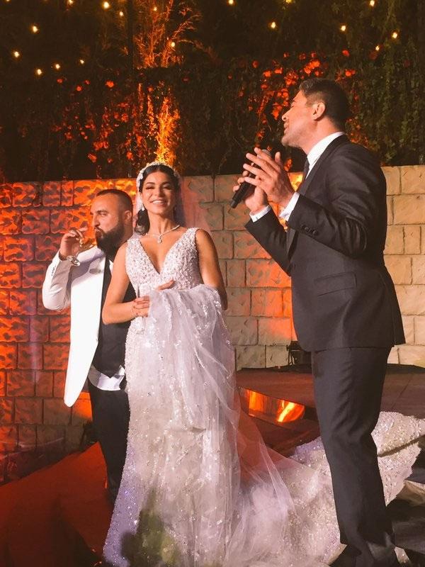حفل زفاف ريما فقيه