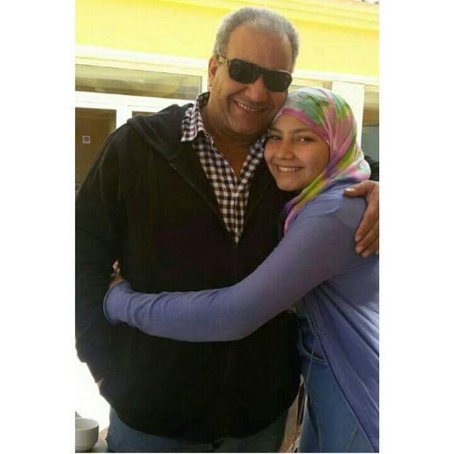 بيومي فؤاد وابنته
