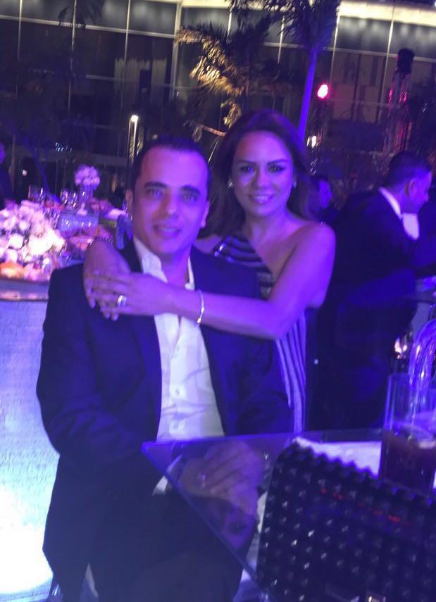 محمد الشقنقيري وزوجته