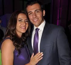 دنيا سمير غانم وزوجها رامي رضوان