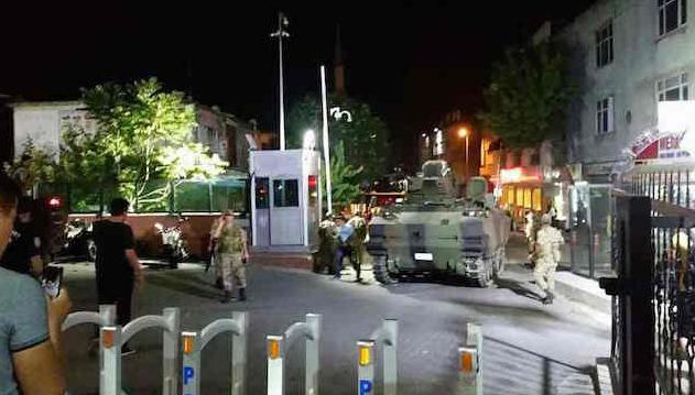 انقلاب تركيا