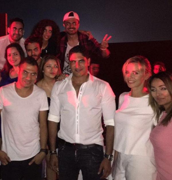 منى زكي و عمرو دياب