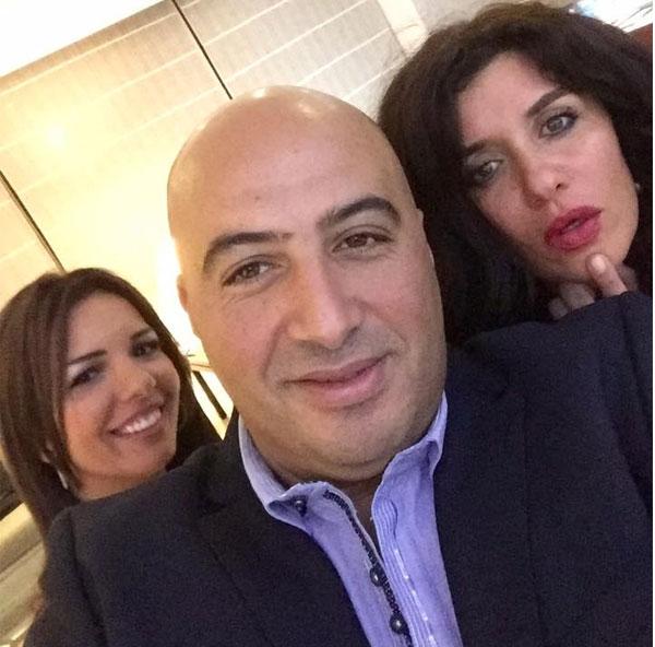 غادة عادل و مجدي الهواري