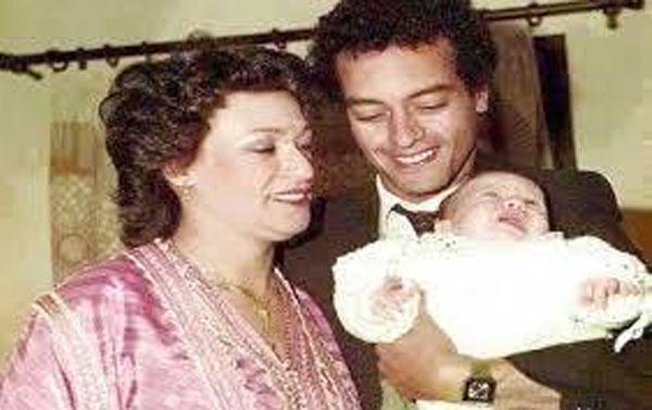 سعد المجرد ووالده ووالدته