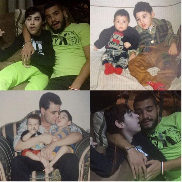 مها احمد ومجدي كامل وابنهما