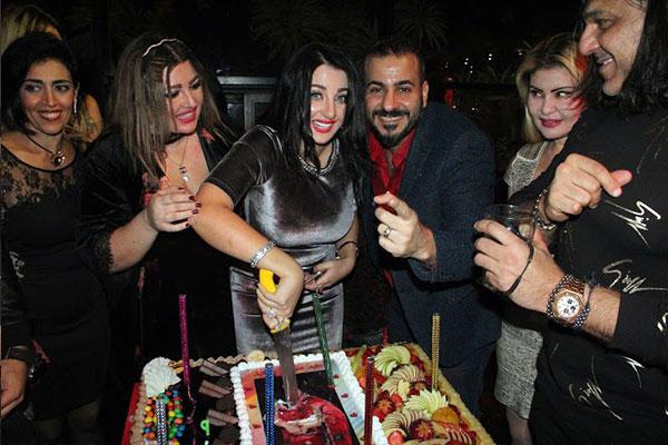 صوفينار تحتفل بعيد ميلادها